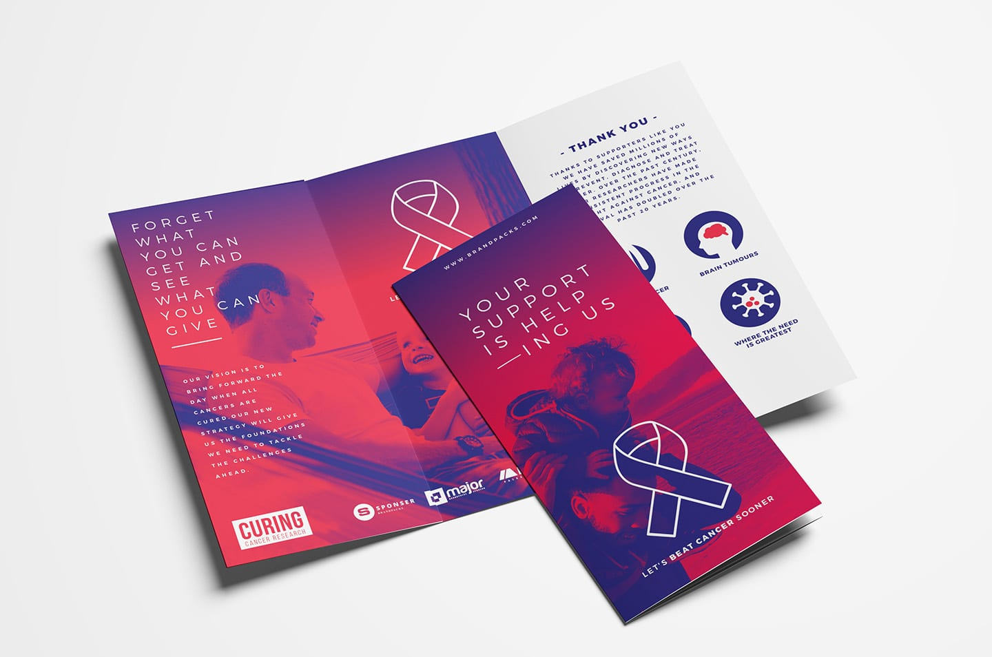 cancer charity templates pack - psd  ai  u0026 vector