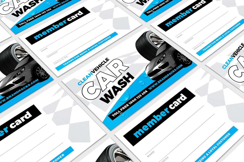 Car Wash Business Card Template In Psd Ai Vector Brandpacks