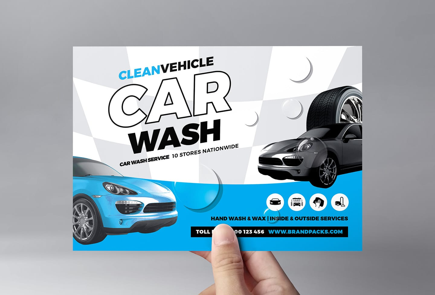 Car Wash Flyer Template In Psd Ai Vector Brandpacks