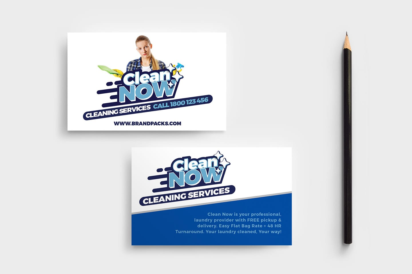 cleaning service templates pack by brandpacks