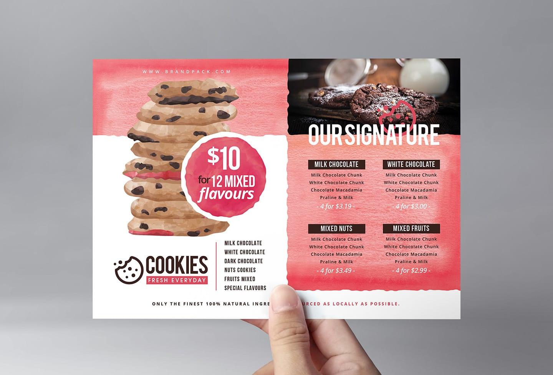 Cookie Shop Flyer Template