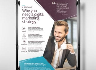 Digital Marketing Poster Template