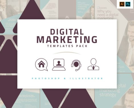 Digital Marketing Templates Pack