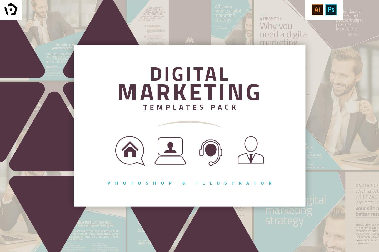 Digital Marketing Templates Pack