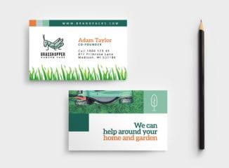Gardener Business Card Template