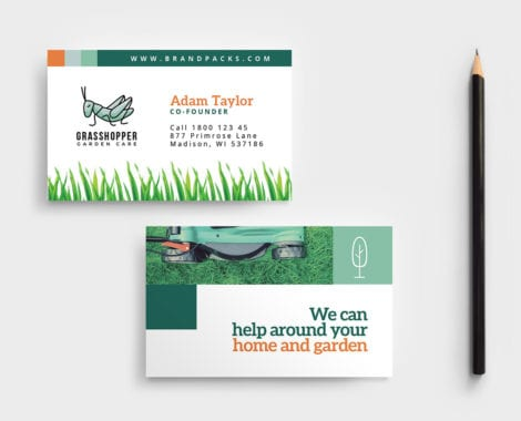 Gardener Business Card Template