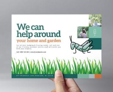 Gardener Flyer Template