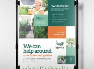 Gardener Poster Template
