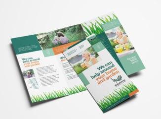 Gardener Tri-Fold Brochure Template