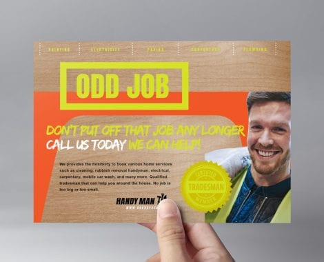 Handyman Flyer Template PSD, Ai & Vector