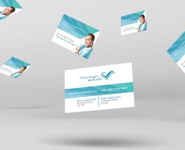 Hospital Business Card Template