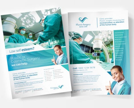 A4 Hospital Poster Templates