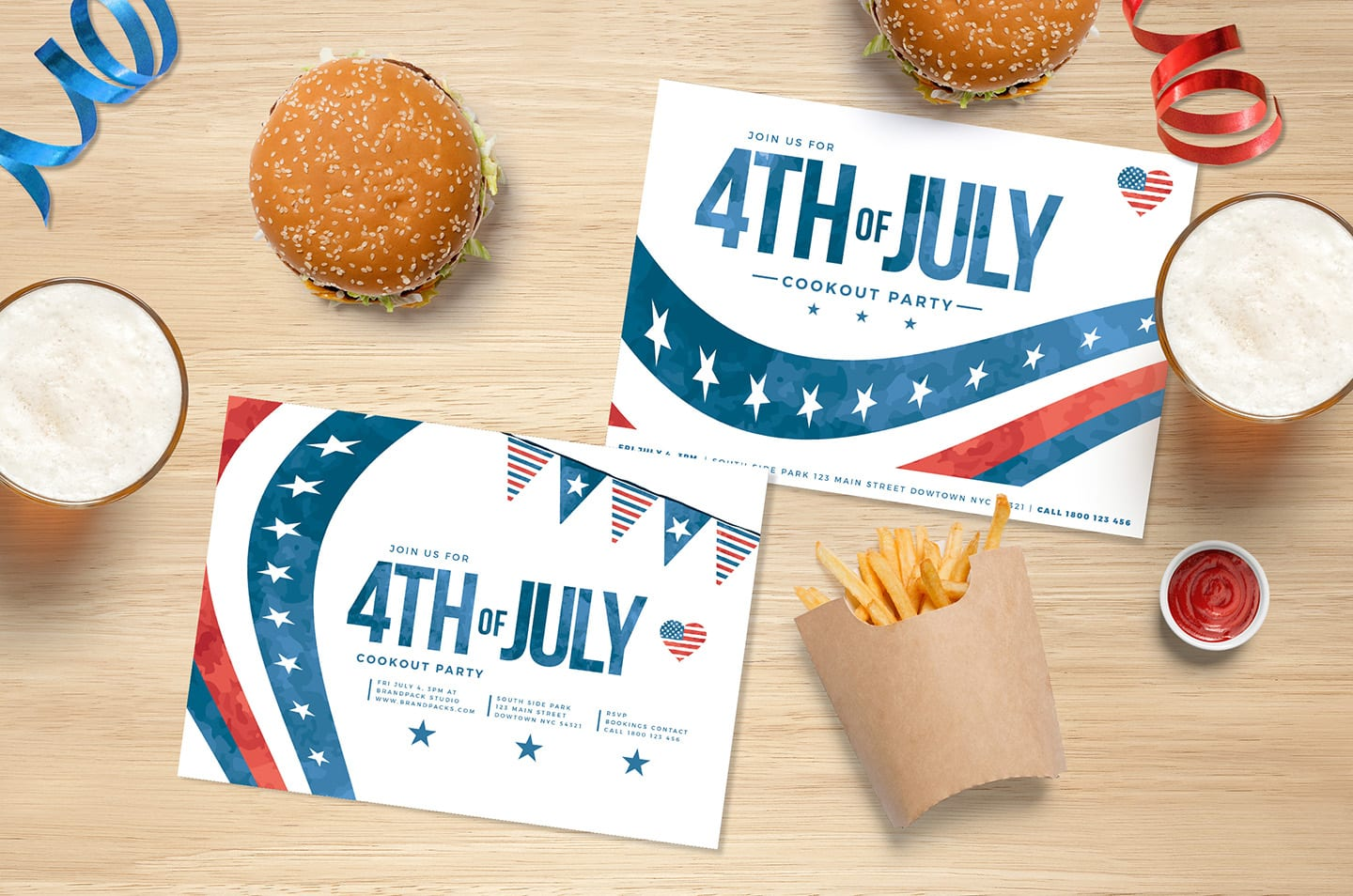 July 4th Flyer Templates