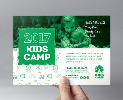 Kid's Camp Flyer Template