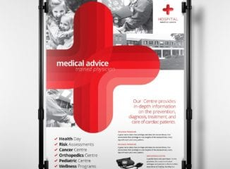 A3 Medical Poster Template