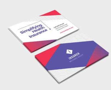 Modern Corporate Business Card Template