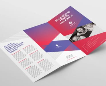 Modern Corporate Tri-Fold Brochure Template