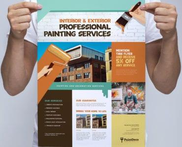 Painter & Decorator Poster Template