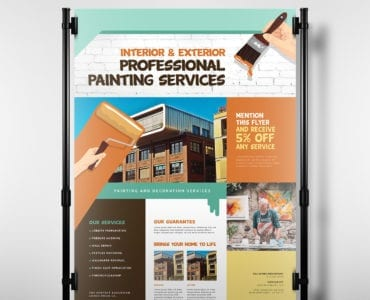 Painter & Decorator Poster Template