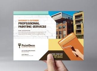 Painter & Decorator Flyer Template