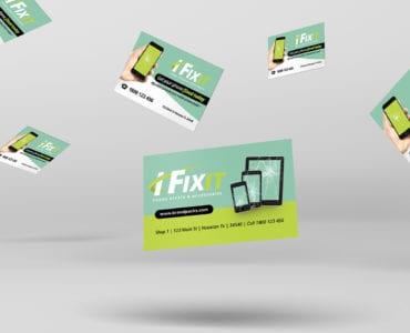 Phone Repair Shop Business Card Template