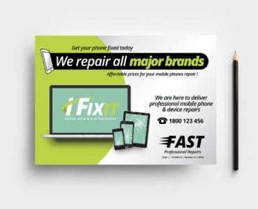 Phone Repair Shop Flyer Template