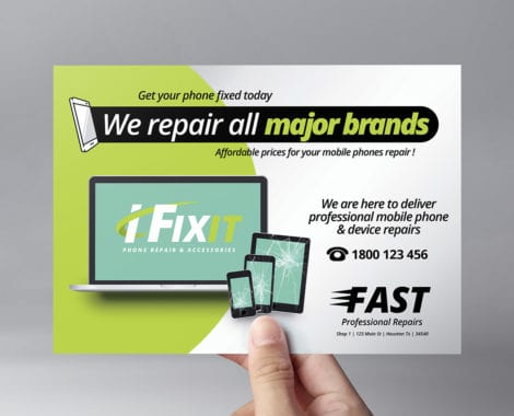 Phone Repair Shop Flyer Template
