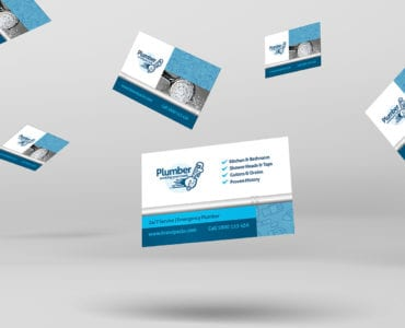 Plumber Business Card Template