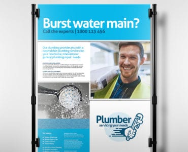 Plumber Poster Template