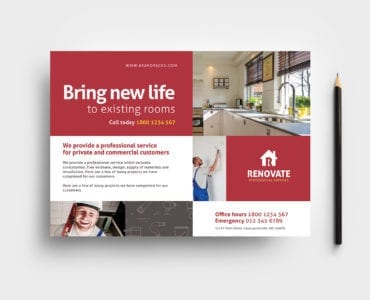 Tradesman Flyer Template