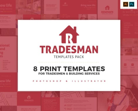 Tradesman Templates Pack