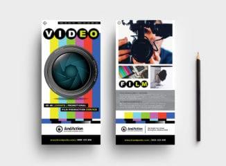 Videographer DL Card Template