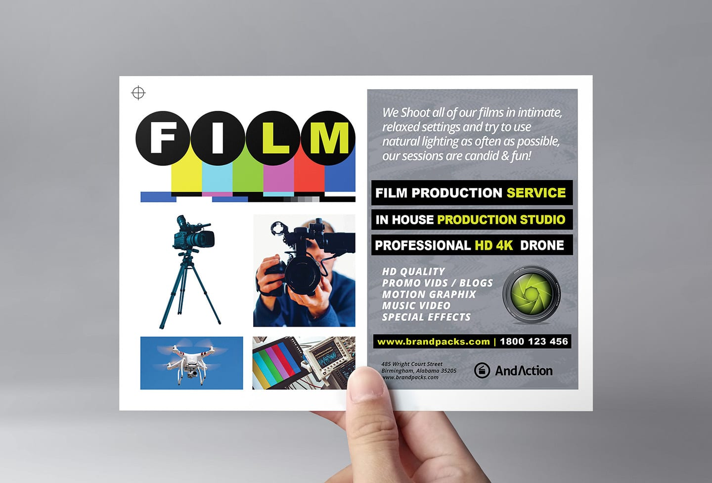 Videographer Templates Pack by BrandPacks - BrandPacks