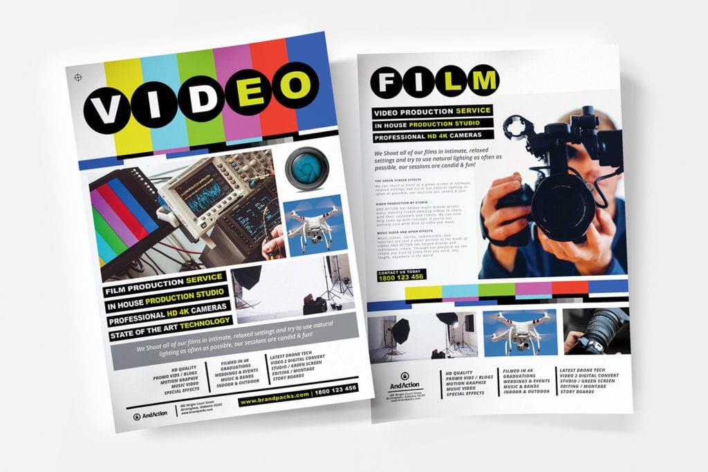 Videographer Poster Templates