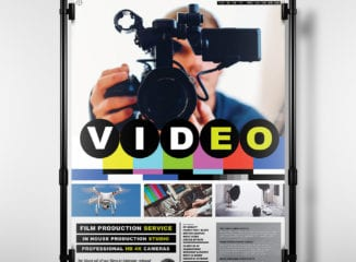Videography Poster Template