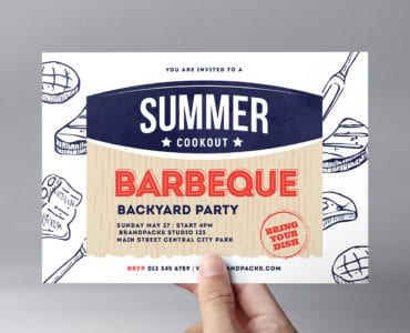 BBQ / Cookout Flyer Template