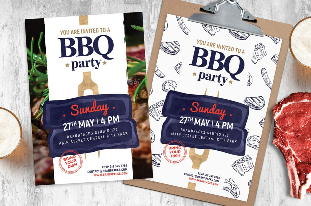 BBQ Flyer / Poster Template