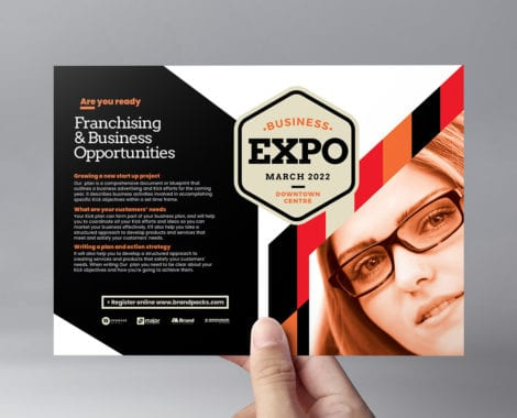 Business Expo Flyer Template