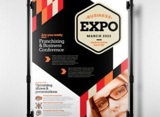 Business Expo Poster Template
