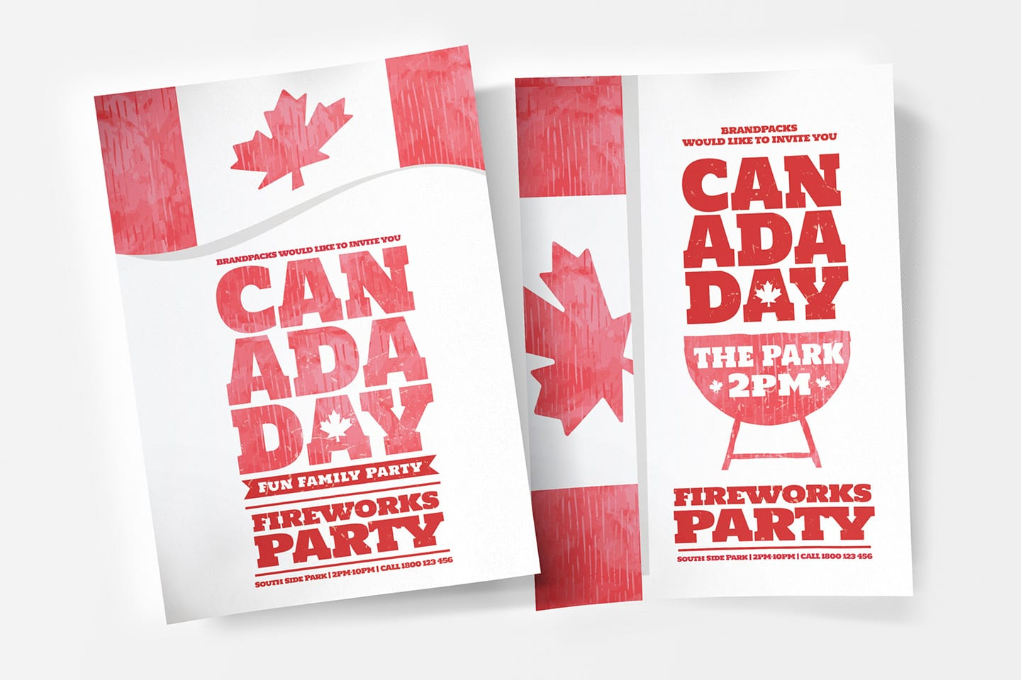 Canada Day Poster Templates