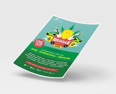 Reggae Festival Flyer / Poster Template