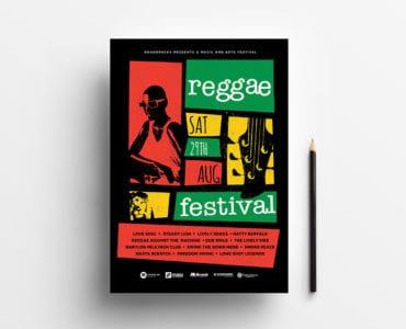 Reggae Festival Poster Template