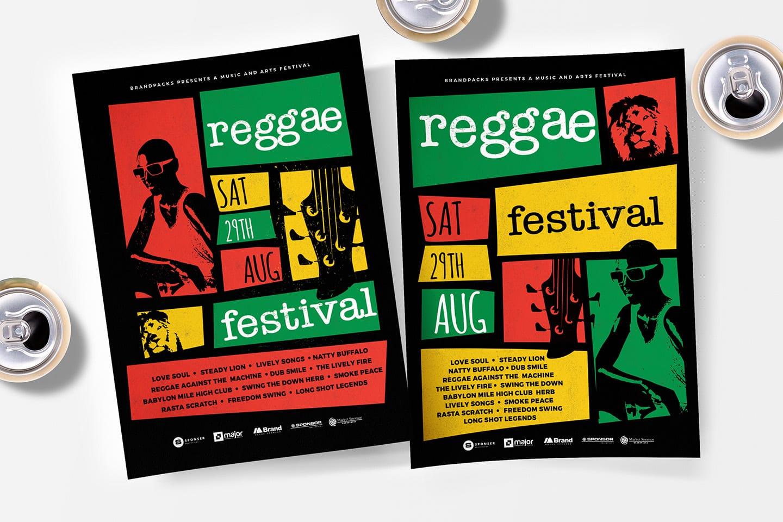 Reggae Festival Poster Templates