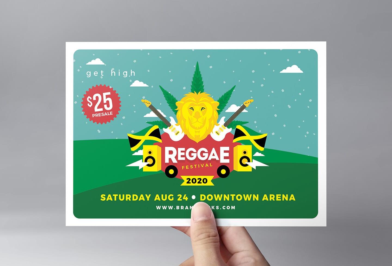 Reggae Festival Flyer Template