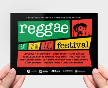 Reggae Flyer Template