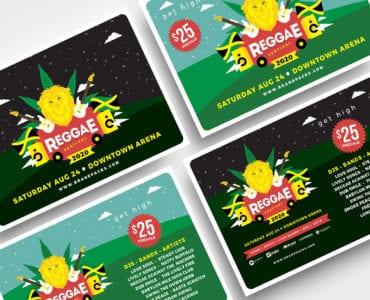 Reggae Festival Flyer Templates
