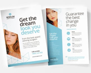 Cosmetic Surgery Poster Templates