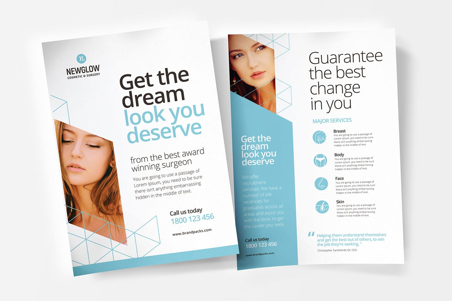 A4 Cosmetic Surgery Poster / Flyer Template