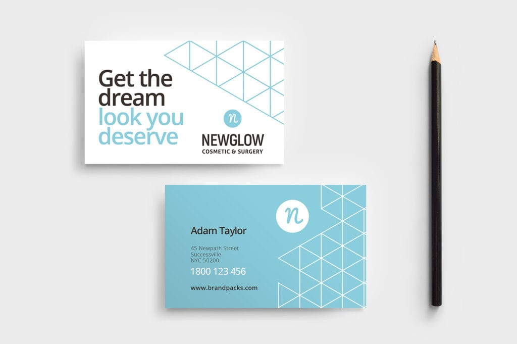 Cosmetic Surgery Business Card Template
