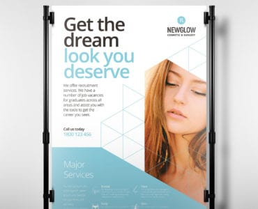 Cosmetic Surgery A3 Poster Template